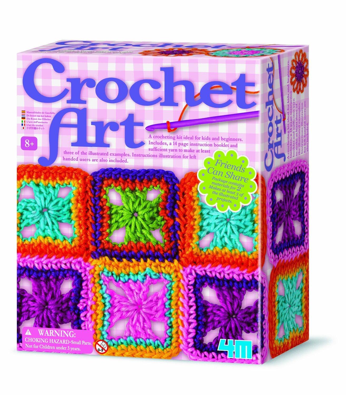 Crochet Art Girl Girls Child Children Kids Arts Crafts