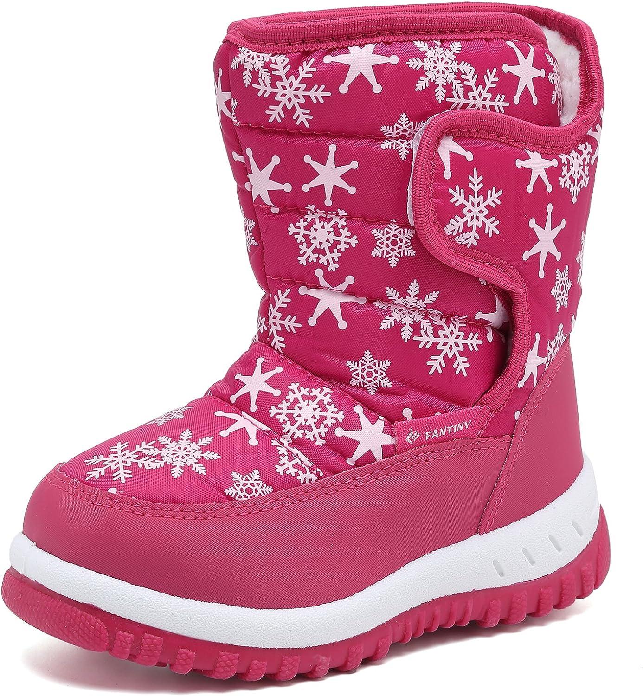 EQUICK Boys Girls Winter Boots