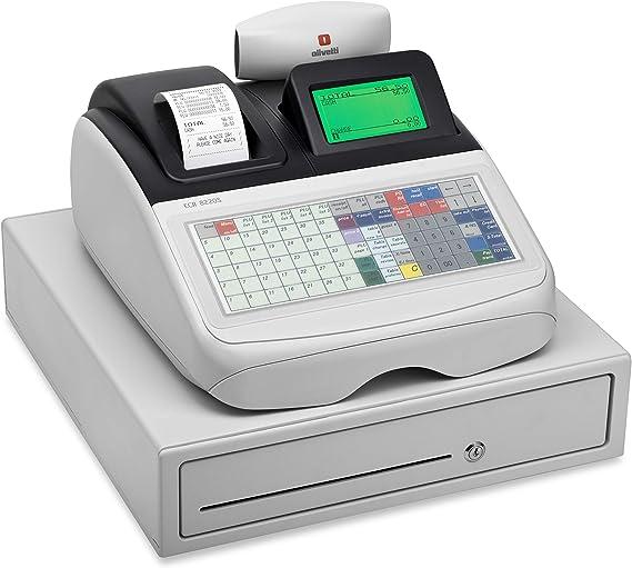 Caja registradora alfanumérica ECR 8220s – Olivetti: Amazon.es: Oficina y papelería