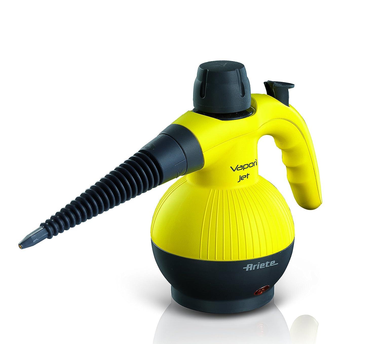 Ariete 4133 - Pistola de vapor, 900 W, 3,5 BAR de presión, 6 accesorios, color amarillo: Amazon.es: Hogar