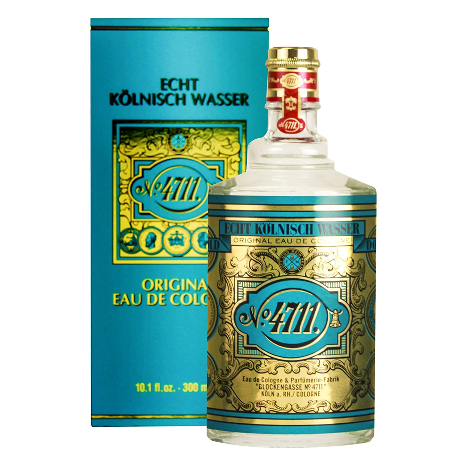4711 by Muelhens for Unisex – 10.1 Ounce / 300 ml EDC Splash MULHENS PerfumeWorldWide Inc. Drop Ship 117912