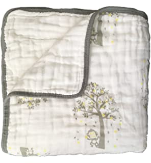 Muslin Blanket for Baby & Toddler - Seben Baby - 6 Layers - 47