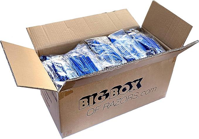 Lot of 1000 Plastic Disposable Shaving Razor Survival Kit Church Mission Shelter