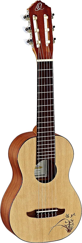 Ortega Guitars RGL5 Guitarlele Series 1/8 Body Size Nylon 6弦 Guitar, Spruce Top and Mahogany Body アコースティックギター アコギ ギター (並行輸入)