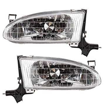 headlights headlamps pair left right set for 98 02 chevy prizm ushirika coop tanzania federation of co operatives