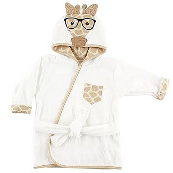 803026230020 Amazon.com  Hudson Baby Animal Face Hooded Bath Robe