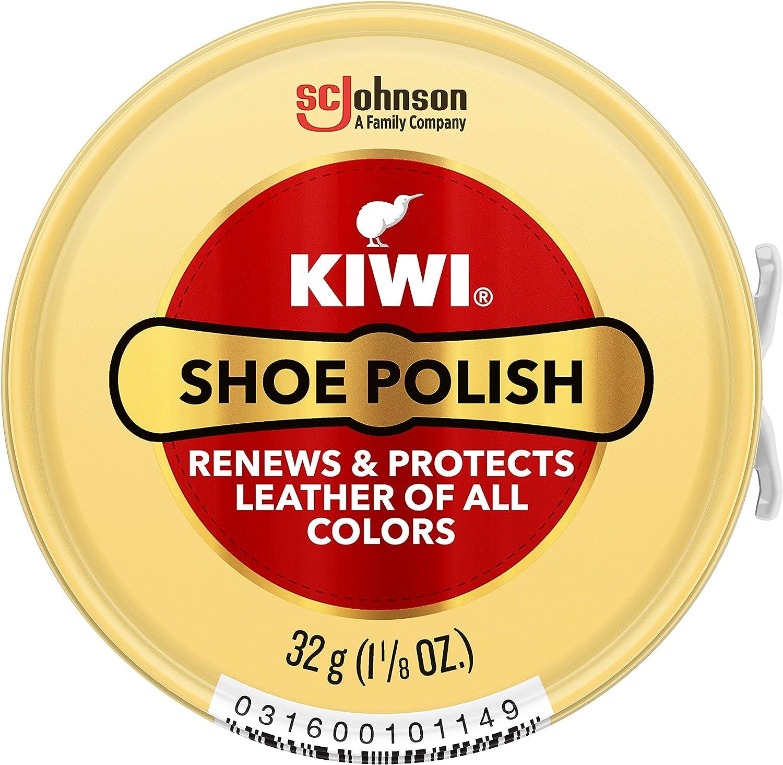 KIWI Shoe Polish, Neutral, 1 Metal Tin, 1.125 oz: Home & Kitchen