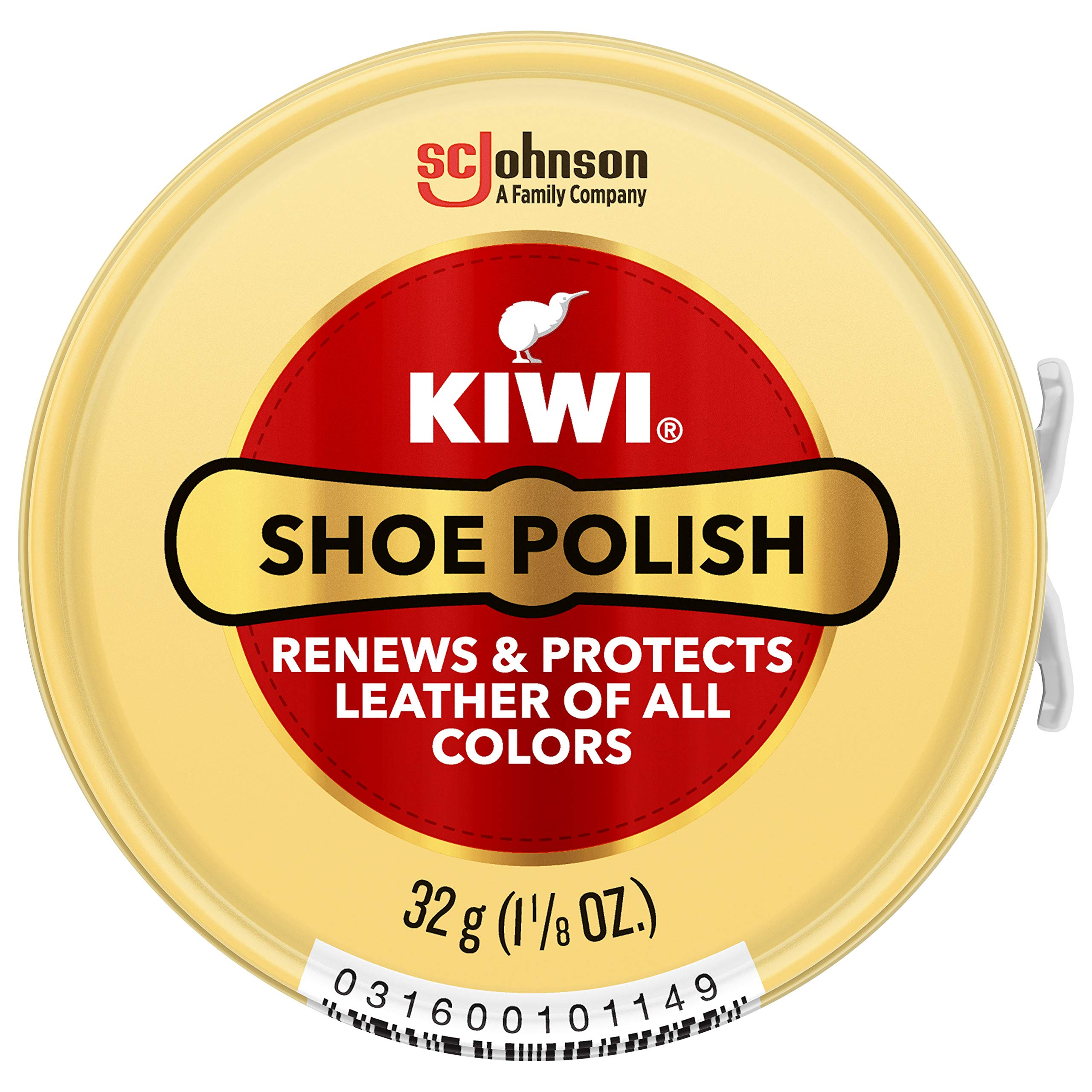 Kiwi Neutral Shoe Polish, 1-1/8 oz