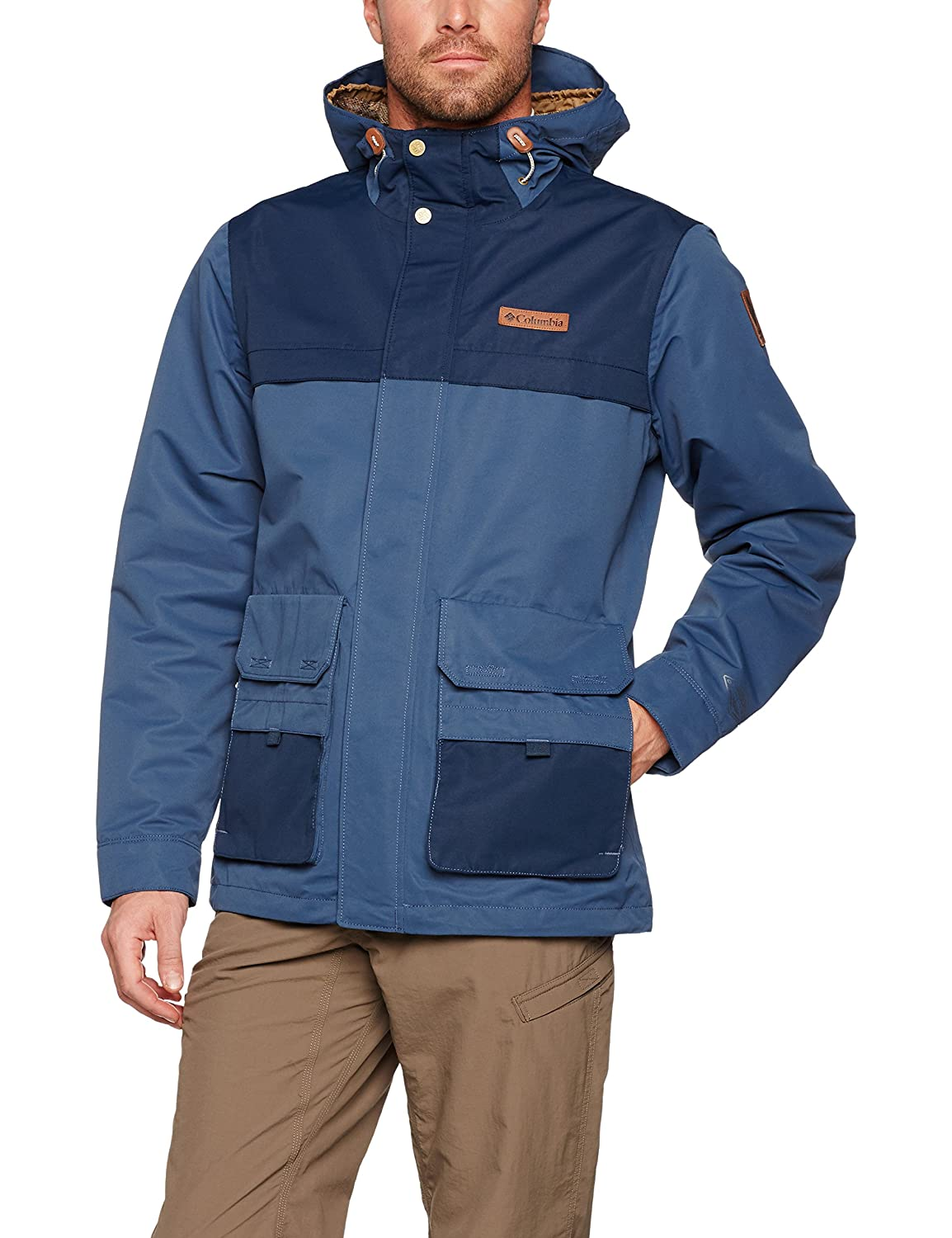 Columbia South Canyon Veste de Pluie Homme, British Tan, FR : XL (Taille Fabricant : XL)