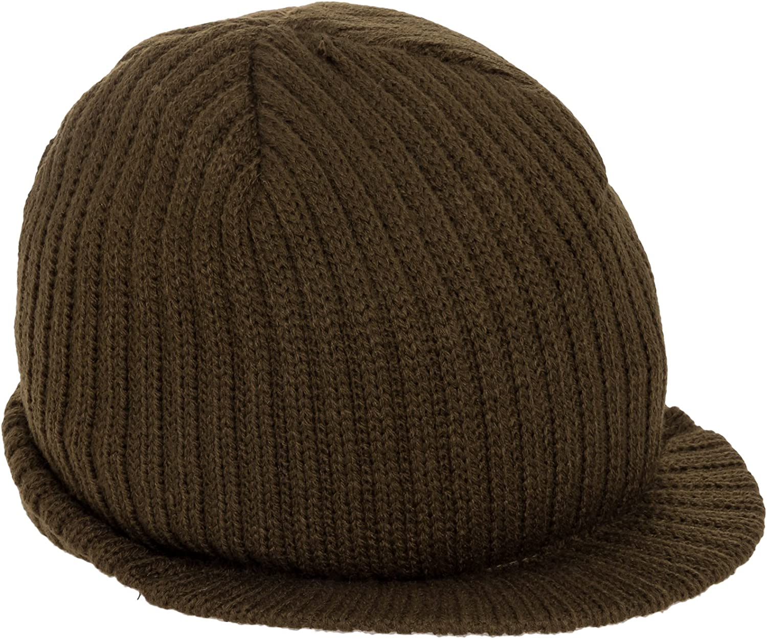 Decky Knit Visor Beanie Campus Jeep Cap Many Colors Available