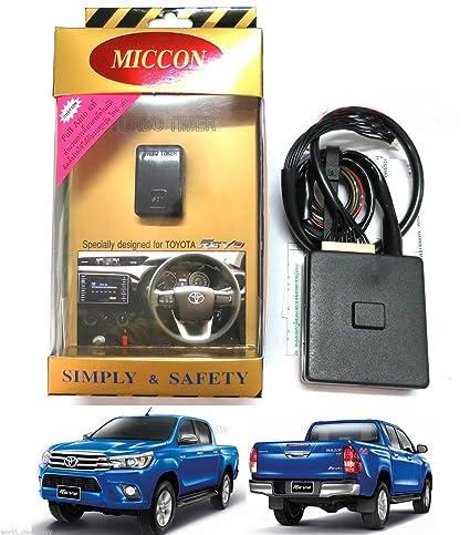 Amazon.com: MICCON FULL AUTO Turbo Timer Control TOYOTA ALL NEW HILUX REVO M70 M80 2015 2016: Automotive