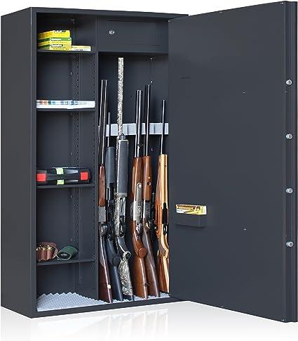 Elite Armoire Forte Reload Mixte 7 Armes Etageres Amazon Fr