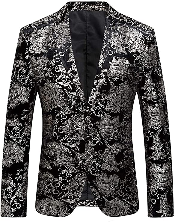 Beninos Men's Fashion Suit Jacket Blazer Two Button Luxury Weddings Party Dinner Prom Tuxedo