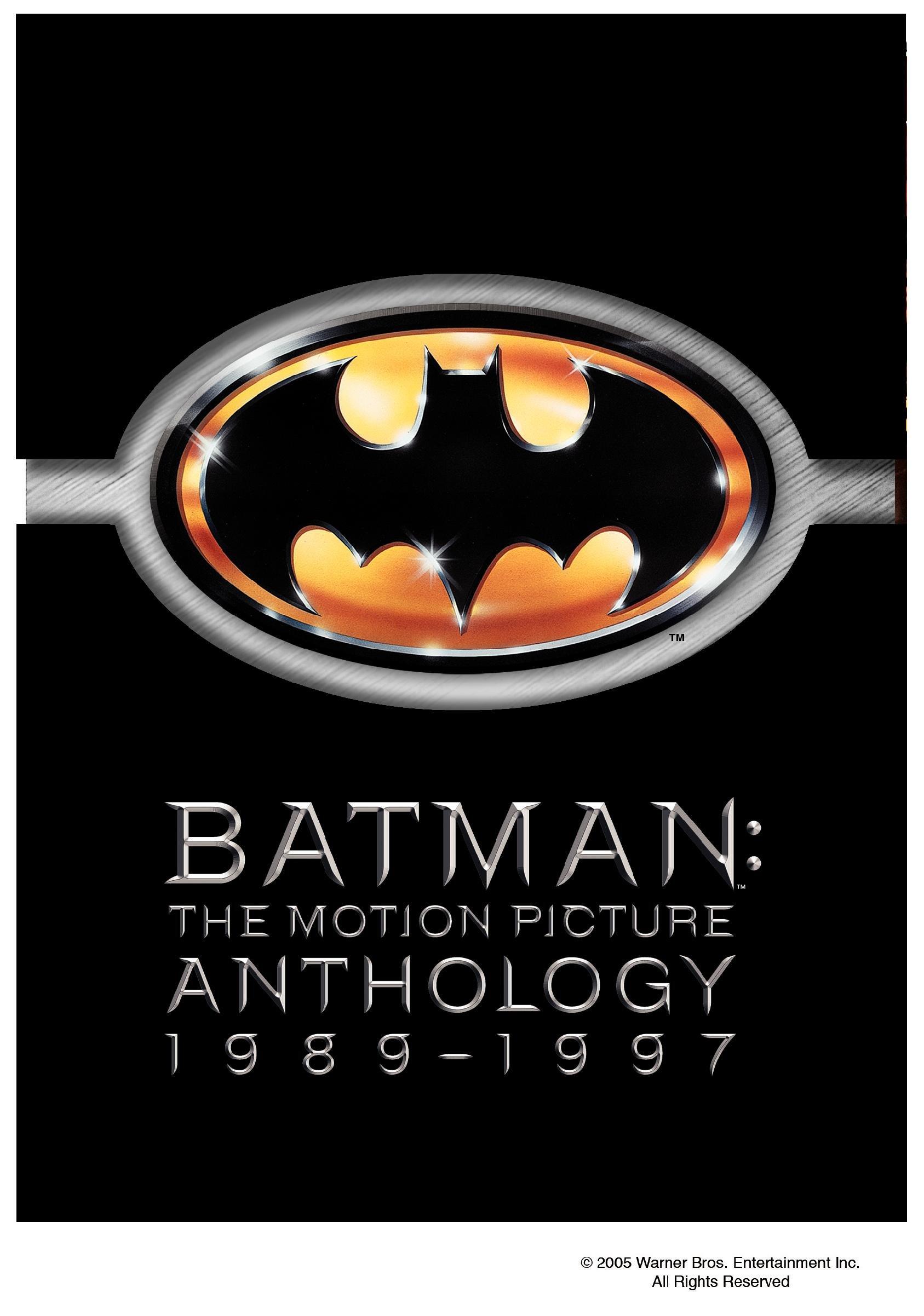 Batman: The Motion Picture Anthology 1989-1997 (Batman / Batman Returns / Batman Forever / Batman & Robin) by KEATON,MICHAEL