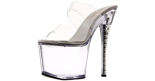 981a0134f5d Pleaser Women s Diamond-702 C M Platform Sandal