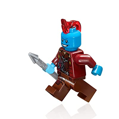 LEGO Marvel: Guardians of The Galaxy Vol.2 - Yondu Minifigure (76080): Toys & Games