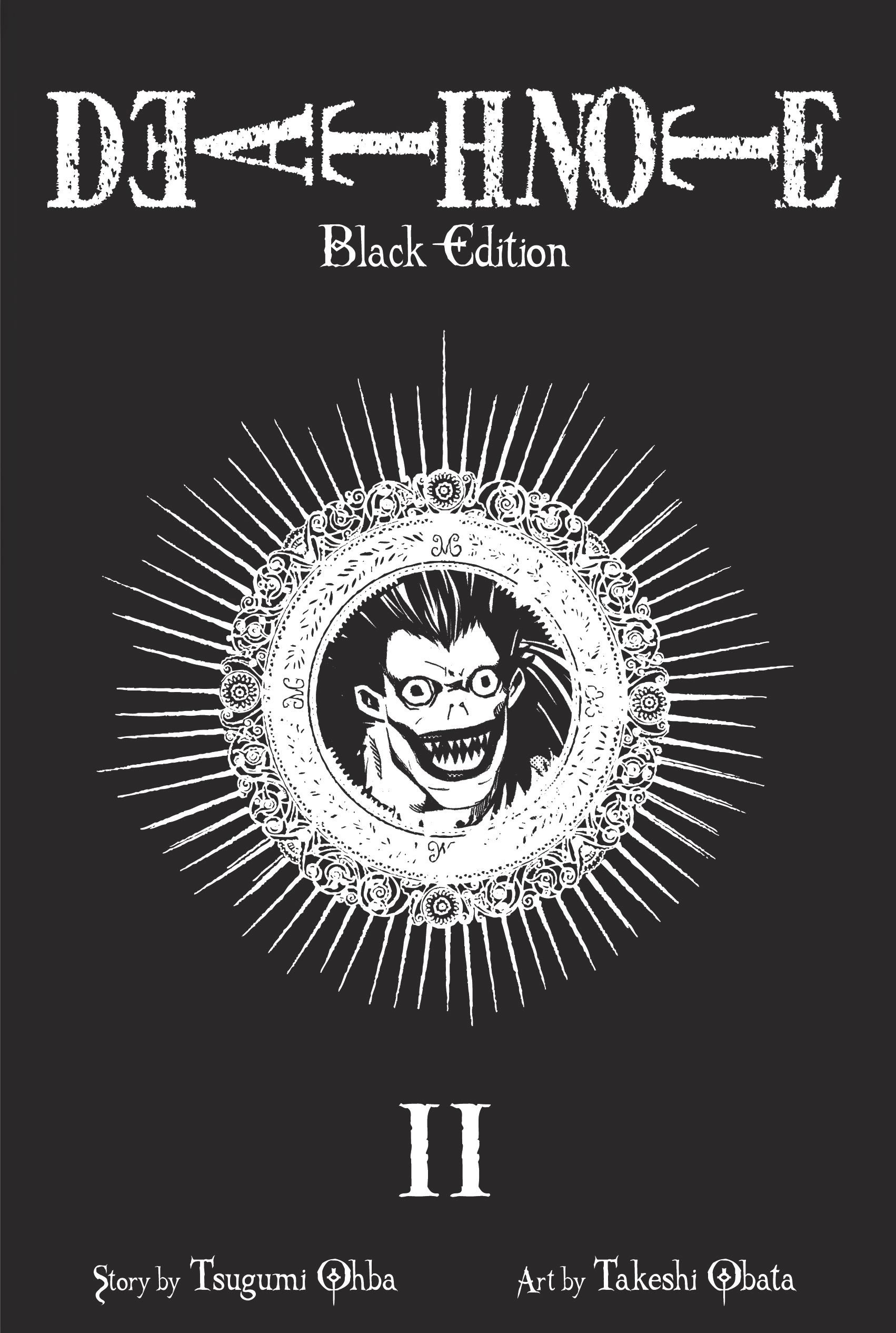 Death Note Black Edition, Vol. 2: Tsugumi Ohba, Takeshi Obata ...