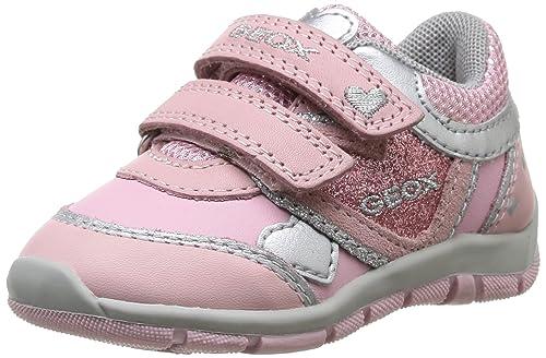 c5d4494a Geox B Shaax B, Calzado de Primeros Pasos Bebé-para Niñas, Pinkc 8005, 20  EU: Amazon.es: Zapatos y complementos