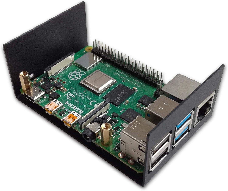 HifiBerry - Carcasa para DAC+ y Raspberry Pi 4, Acero, Color Negro ...