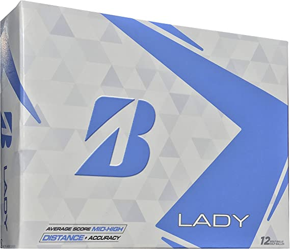 Bridgestone 2017 Lady Precept Golf Balls 12-Ball Pack