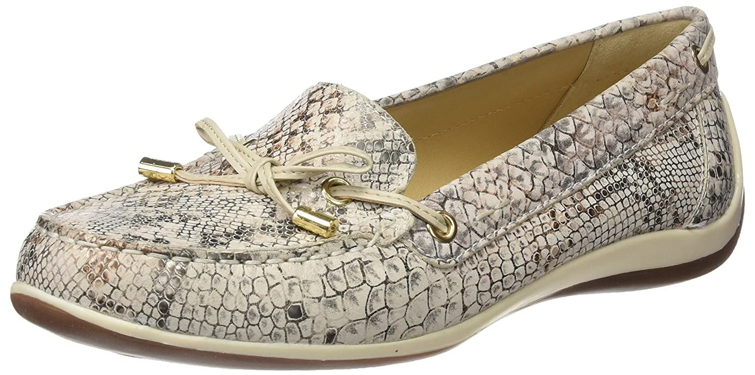 Geox A, D Yuki A, Mocassins Femme D Beige (Off 5776 White/Lt Taupe) 5a747cf - shopssong.space