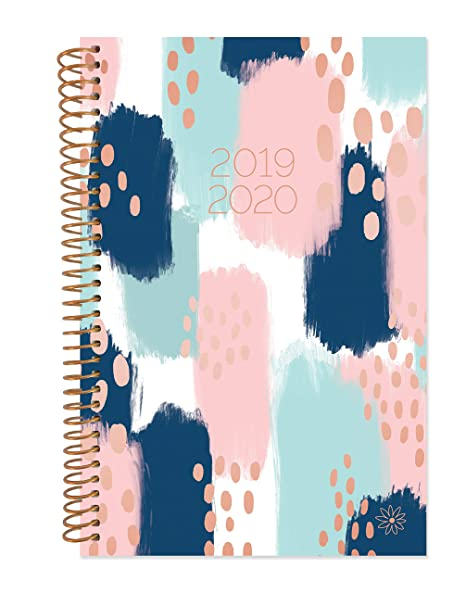 "bloom daily planners 2019-2020 Academic Year Day Planner Calendar (August 2019 - July 2020) - 6"" x 8.25"" - Weekly/Monthly Agenda Organizer Book with ..."