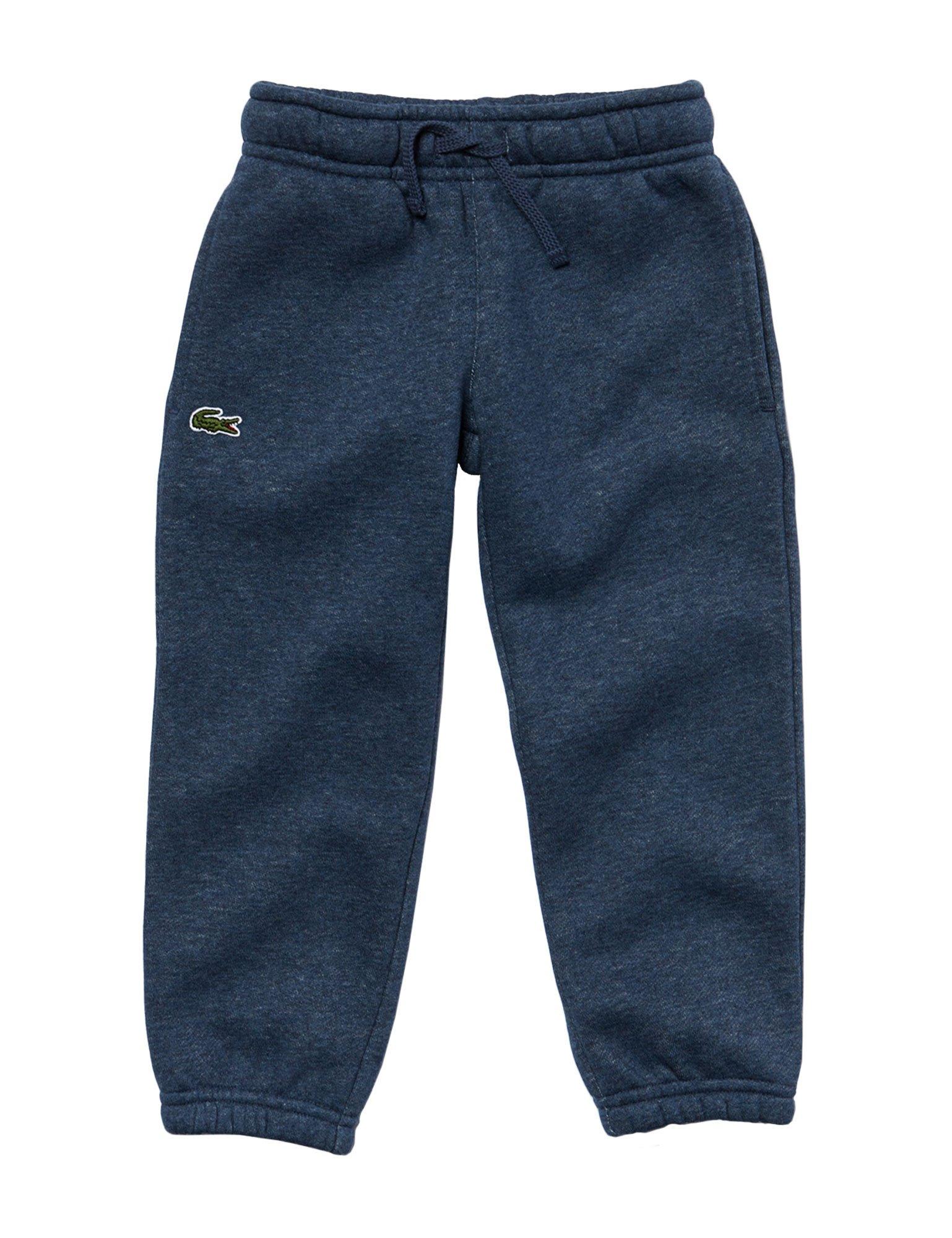 Lacoste Kids Blue MARL Jogging Bottoms 2 Years/86CM