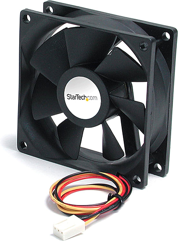 StarTech.com 40x10mm Replacement Dual Ball Bearing Computer Case Fan w// LP4-60mm Fan ,Black pc Fan computer case Fan FAN4X1LP4