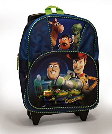 41504d8f23c Image Unavailable. Image not available for. Color  Disney Pixar Toy Story 3  Toddlers Rolling School Backpack