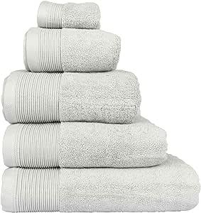 Homescapes – Toalla Supremo Luxe suave y absorbente de algodón ...