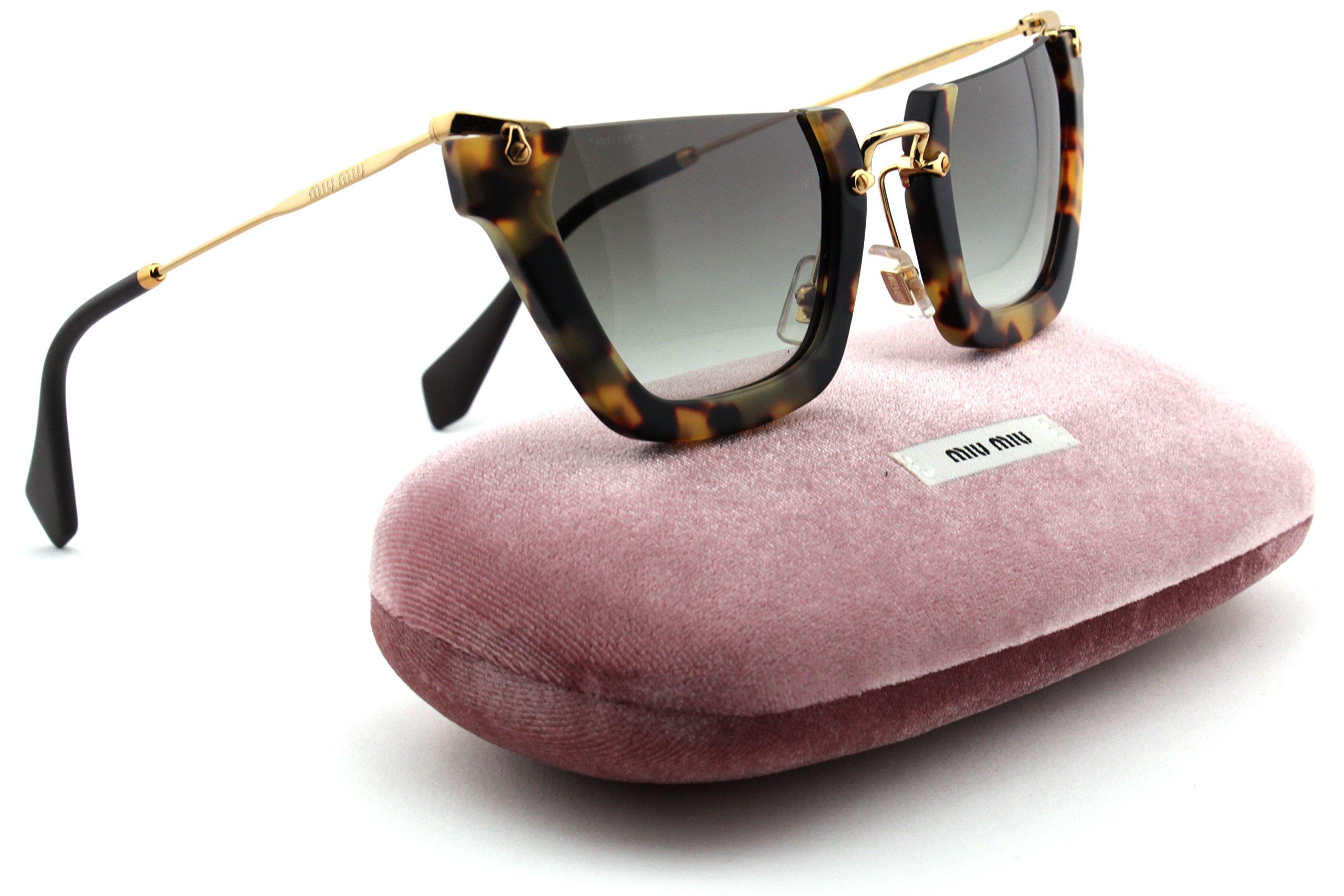 eae1a482011f Miu Miu MU 12QS Rasoir Wink Women Irregular Sunglasses
