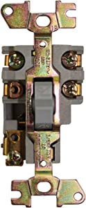 Square D 2510FO2 Open Type Manual Motor Starter Toggle Switch, 16-Amp, 2-Pole, 1-HP, 115-277V