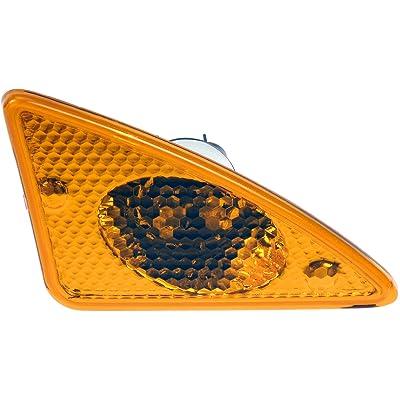 Dorman 888-5421CD Front Driver Side Turn Signal / Side Marker Light Assembly for Select Kenworth Trucks: Automotive