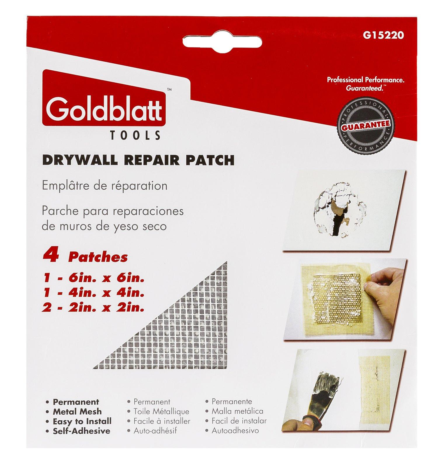 Goldblatt Drywall Repair Patch 4 pk