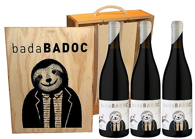 D.O.Q. Priorat - Vino Tinto badaBADOC - Estuche de madera 3 ...