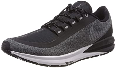 b327dd2a1f6d Nike Air Zoom Structure 22 Shield Men s Running Shoe Black White-Cool Grey-