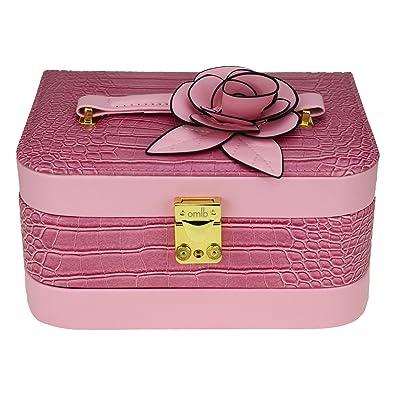 9c2cd3f07 Buy AVMART Leather Look Flower Cosmetic Organizer Makeup Storage ...