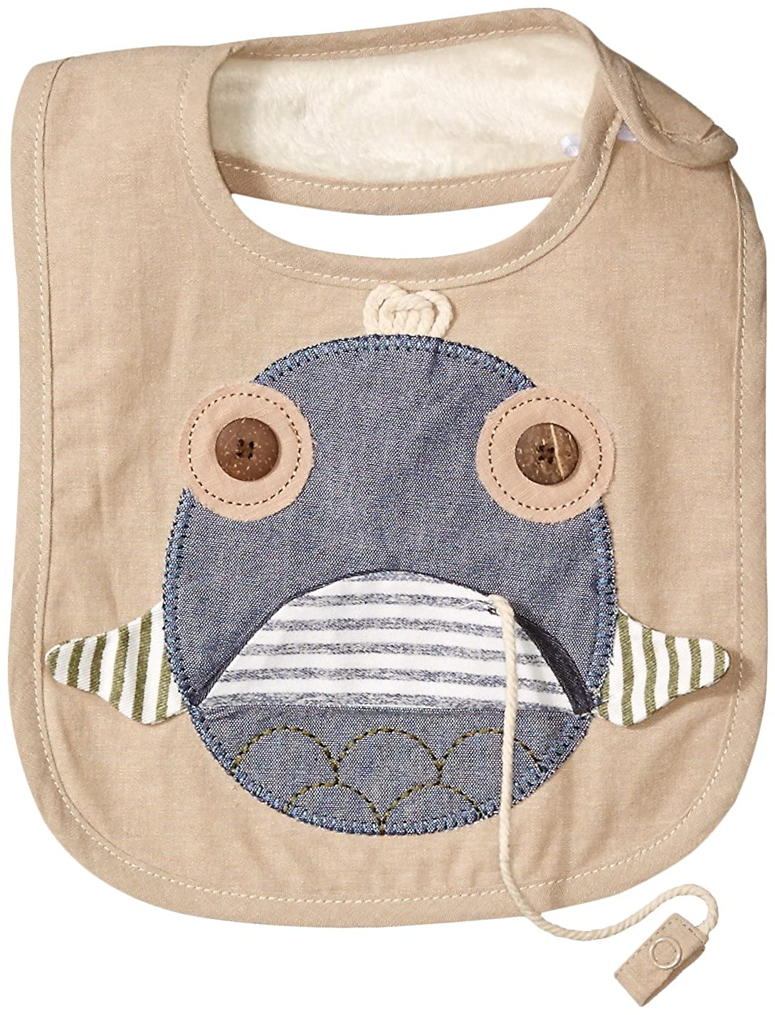 0a99c774a Mud Pie Baby Boys Applique Bib Multi One Size Mud Pie Children' s Apparel  1552183 Baby
