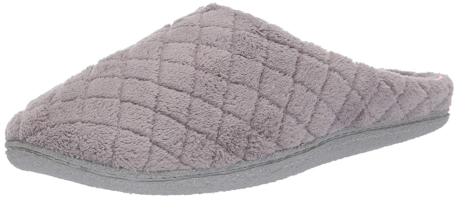 Dearfoams Quilted Microfiber Terry Clog Slipper (51705)