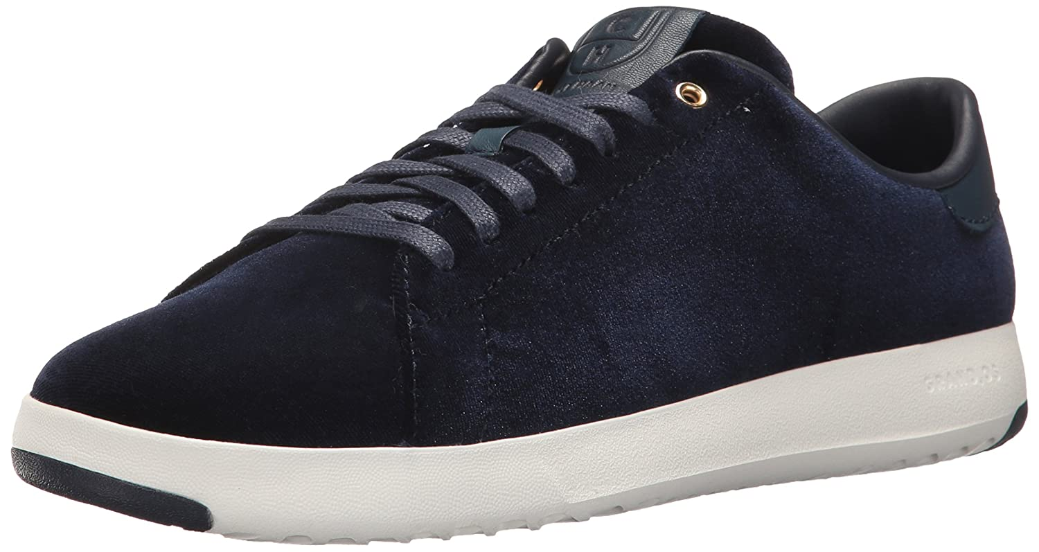 Cole Haan Women's Grandpro Tennis Leather Lace OX Fashion Sneaker B01N9V4T38 10 B(M) US|Marine Blue
