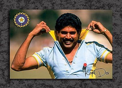 Tamatina Cricket Poster - Kapil Dev - India National Cricket
