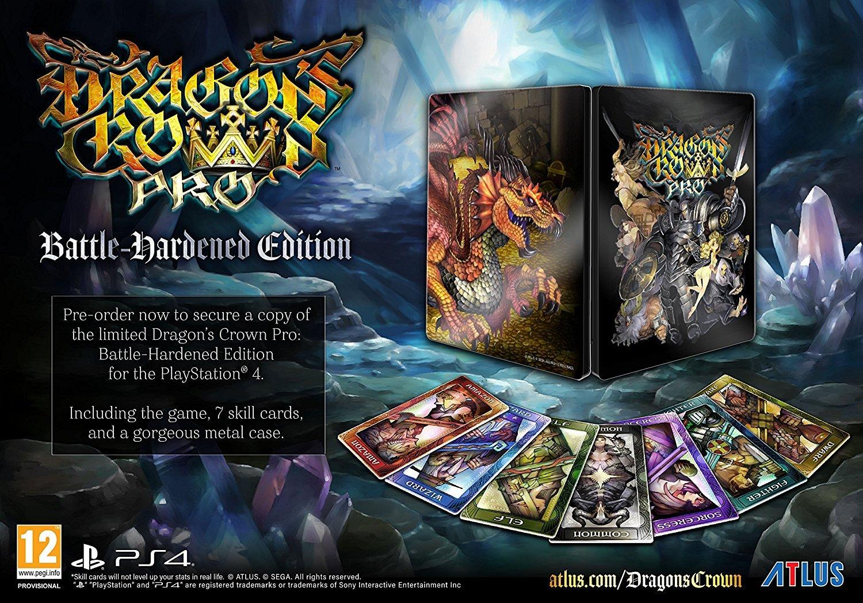 Amazon com: Dragon's Crown Pro Battle-Hardened Edition (PS4