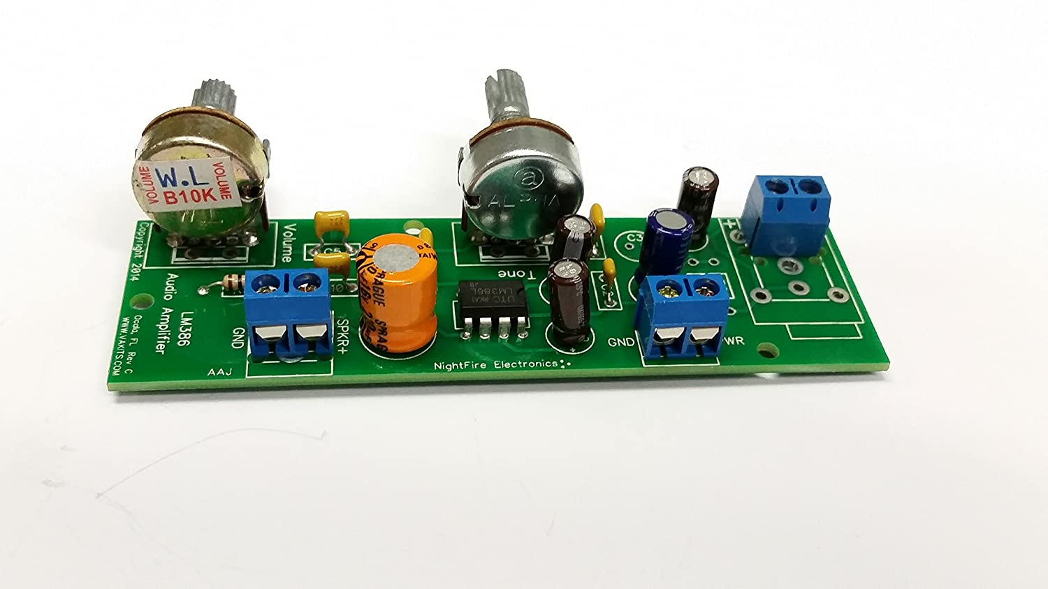 Lm386 Audio Amplifier Kit 2 Pin In Out Home Details About 12v Mini Hifi Pam8610 Stereo Circuit Theater