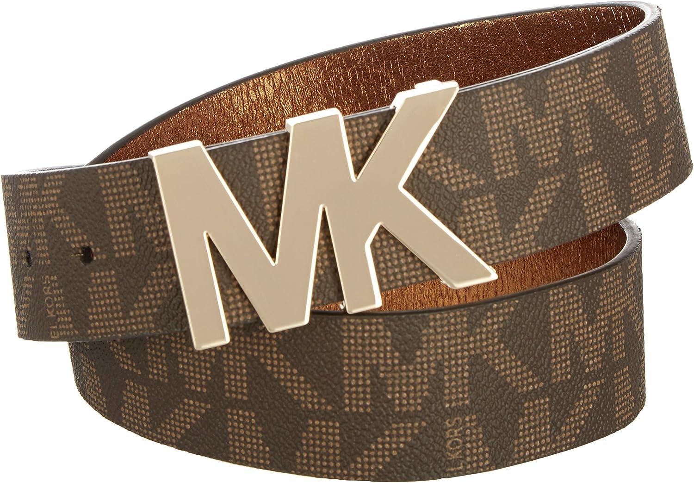 Michael Kors Signature Logo Wide Belt