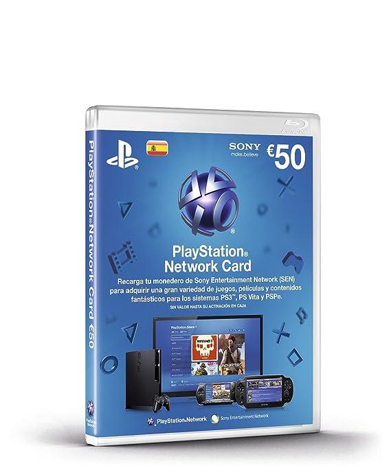 Tarjeta PlayStation Network 50: Amazon.es: Videojuegos