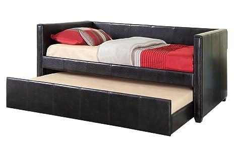 Amazon.com: Muebles de América Marina polipiel Plataforma ...