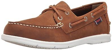 Chaussures Art grises Casual homme  46 EU Sebago Women's Liteside Two Eye Boat Shoe BZ09mjx