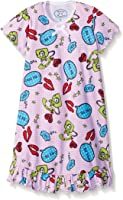 Sara's Prints Girls' Short Sleeve Nightgown