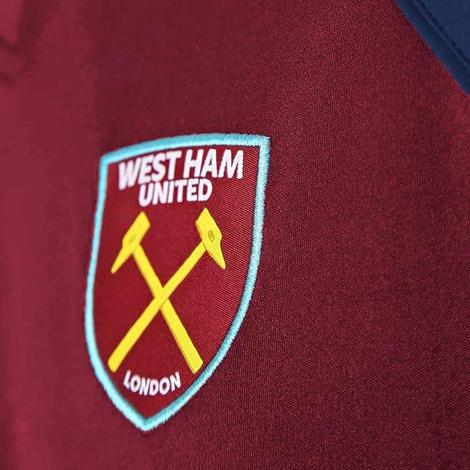 West Ham United FC - Camiseta Oficial de Entrenamiento - para Hombre - Poliéster: Amazon.es: Ropa y accesorios