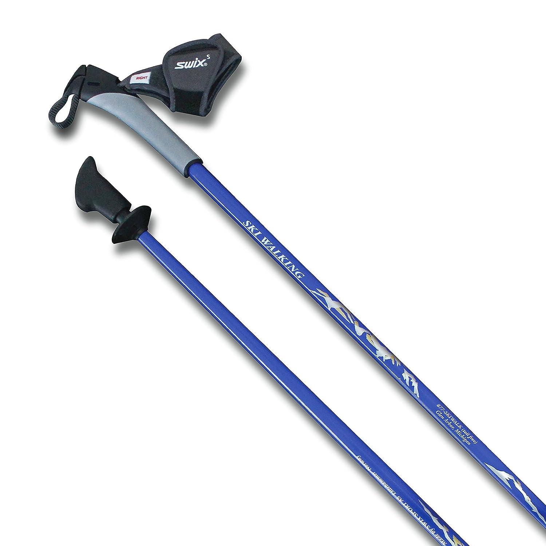 日本最級 SWIX VIP 北欧ウォーキング フィットネス ハイキング トレッキング Barefoot バランス フィットネス 理学療法ポール 長さ32種類 理学療法ポール チーズツイストロックまたはフリップロック付き壊れやすい折りたたみポールを壊さないでください B07DR7PXCR 5' 6 1/2